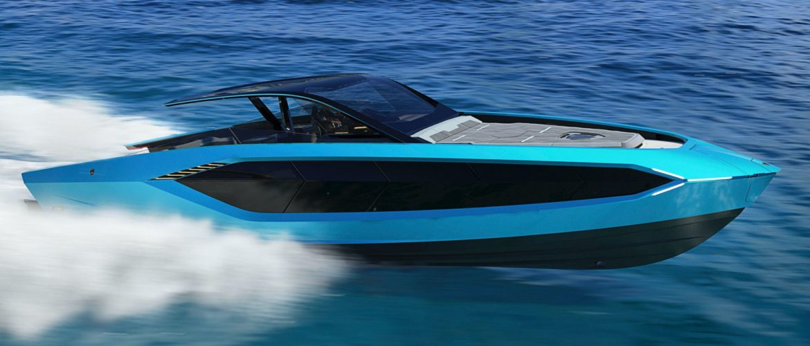 Lamborghini y The Italian Sea Group presentan el 'Tecnomar for Lamborghini 63'