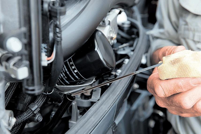 Un rápido diagnóstico al estado del aceite de su motor