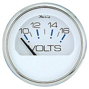 Reloj Medidor Voltímetro